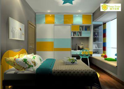 色彩混搭-儿童房家具-117