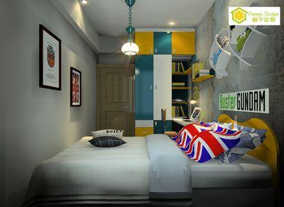 色彩混搭-儿童房家具-118